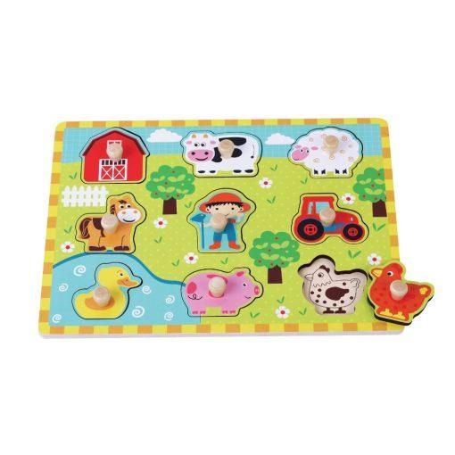 Jumini Farm Peg Puzzle