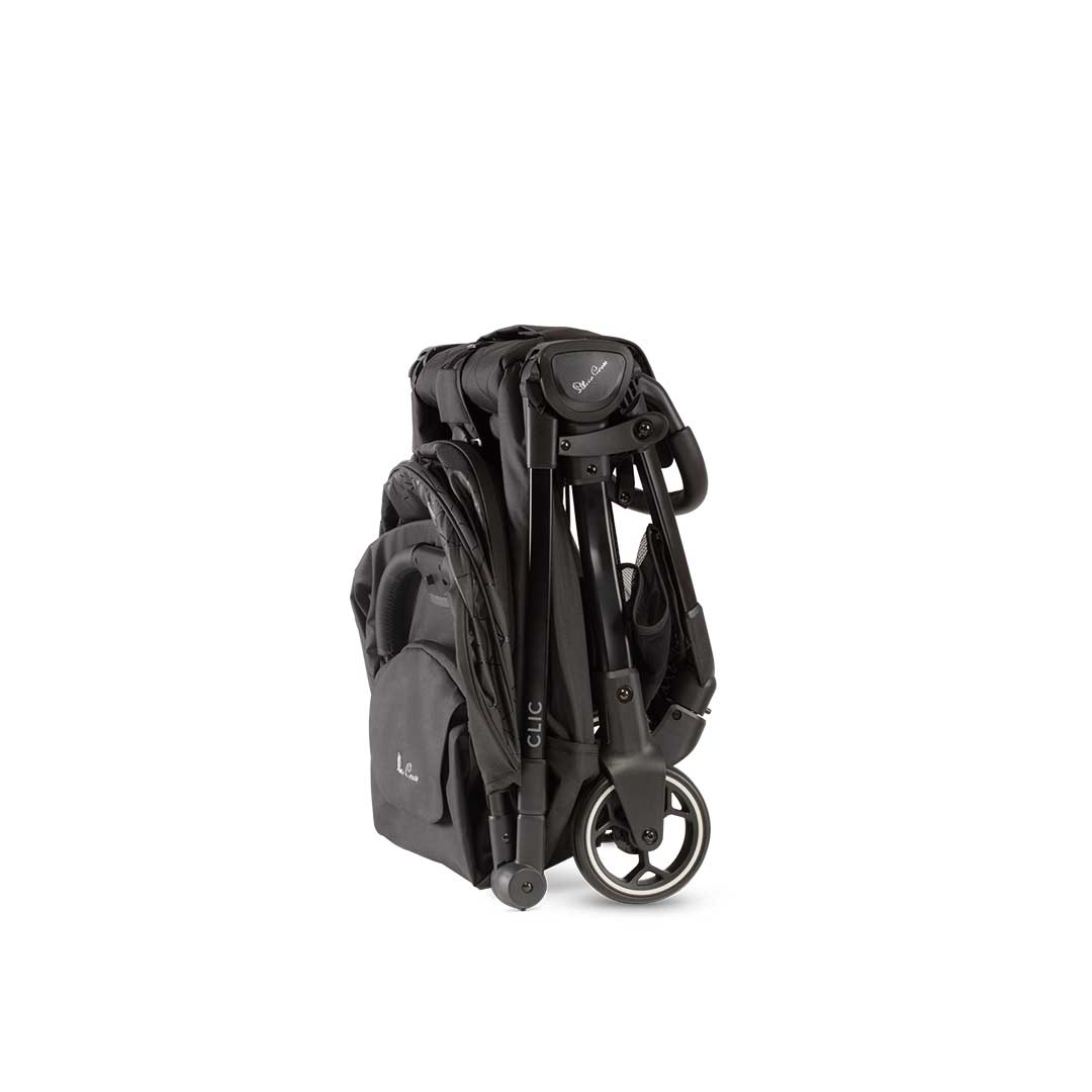 Silver Cross Clic Lightweight Stroller - Black